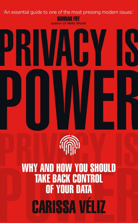 Privacy is Power book cover